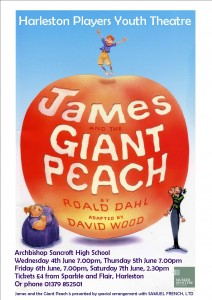 Giant Peach Poster